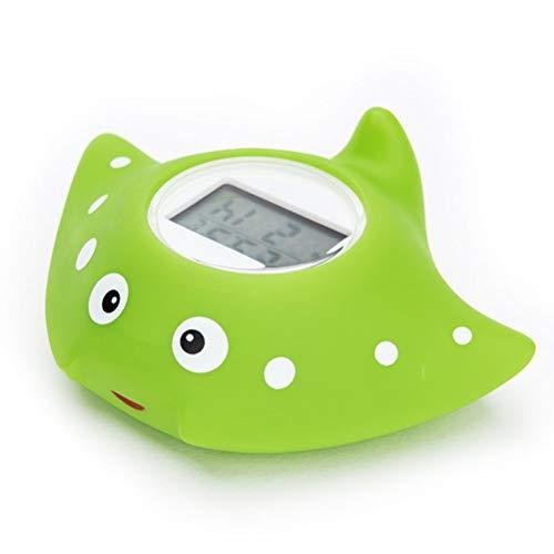Thermomètre de Bain pour Bébé, Température de Leau du Bain Thermomètre dambiance Numérique Thermomètre de Bain Flottant Bébé Jouets de Baignoire avec Alarme davertissement LED Intelligente