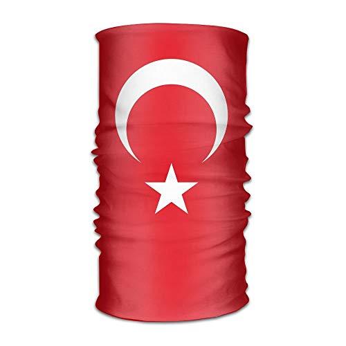 Drapeau de la Turquie Unisexe Sport En Plein Air Écharpe Bandeaux Bandana Couverture Cou Guêtre Guêtre Tête Wrap Bandeau Bandeau