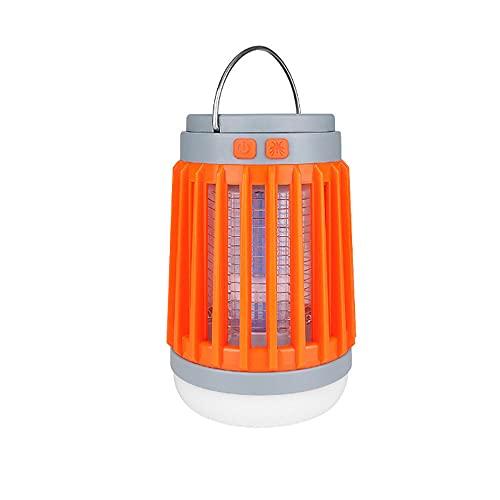 YDJGY LED Linterna Camping Lámpara Repelente de Mosquitos,Proyector Recargable portátil USB,Luz de Carga Solar con Interruptor,IPX4 Impermeable,Luz de Emergencia,Pesca,Senderismo,Exterior e Interior