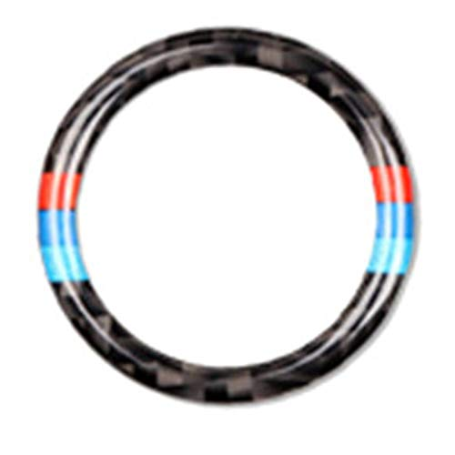 para BMW X5 Z4 E53 E70 G30 F30 F10 E39 E36 E46 E60 E87 E90, Accesorios De Automóvil, Interruptor De Botón De Motor De Coche, Reemplazo De Tapa, Pegatina Molduras (Color : 3.25cm Ring)