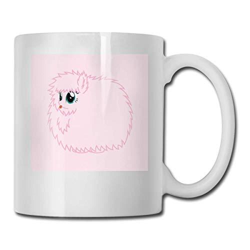 haoqianyanbaihuodian Fluffle Puff Stare Ceramic Cups Code 330ml
