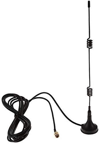 YESKAMO 7dBi WiFi Verlängerungskabel Antennen für Wireless IP Überwachungskamera Verlängerungskabel mit Magnet Standfuß für IP Kamera Funk Kamera Wireless Überwachungskamera