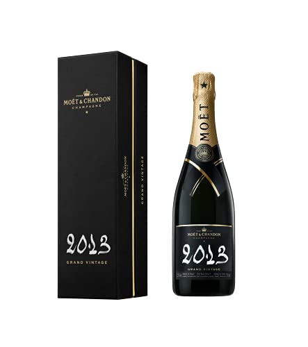 Moët & Chandon GRAND VINTAGE Extra Brut 2013 12,5% Volume 0,75l in Geschenkbox Champagner