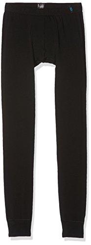 Schiesser Jungen 159456 Pants, (Schwarz 000), 140 (Herstellergröße: XS)