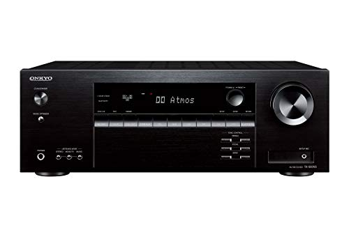 ONKYO TX-SR393 AVレシーバー 5.2ch/Dolby Atmos/DTS:X ブラック TX-SR393(B) 【国内正規品】