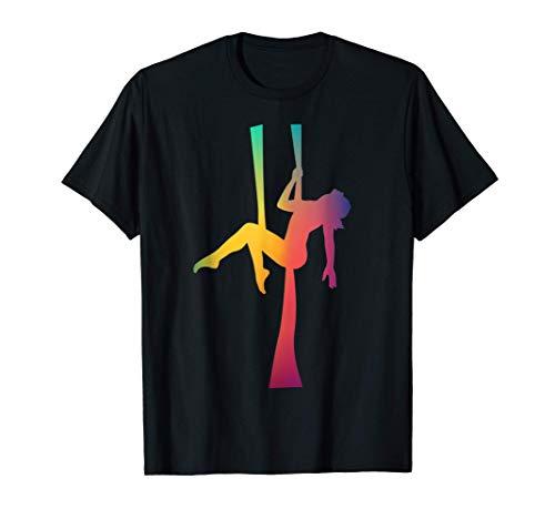 Gimnasta Aeronáutico Bailarín Bailarín de Acrobat Bailarín Camiseta
