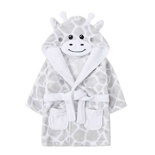 undercover lingerie Baby Giraffe Fleece Robe 18C539 Grey 18/24 Months