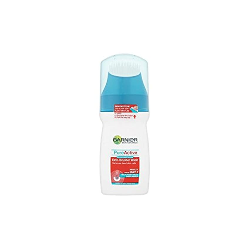 プレビスサイトズボンアルバムGarnier Pure Active Exfo-Brusher Face Wash (150ml) (Pack of 6) - ガルニエ純粋な活性-ブラッシャーの洗顔(150ミリリットル) x6 [並行輸入品]