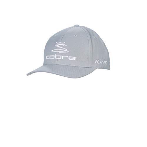 Cobra Golf 2019 Pro Tour Stretch Fit Hat (Heather Gray,...