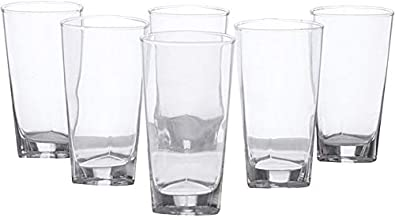 Luminarc DH2503 Delta H-B Set of 6-Pieces, Clear, Glass