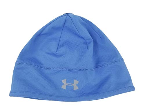 Under Armour Women's Infrared ColdGear Stay Warm Beanie Cap Hat (Blue)