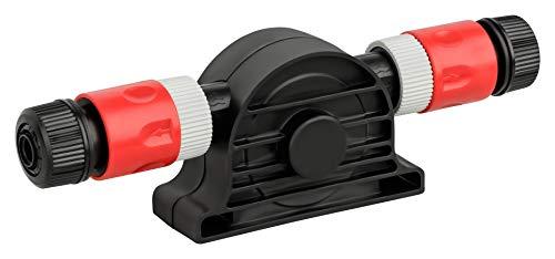 Original KINZO Bohrmaschinenpumpe 5-teiliges Set mit Schnellkupplung | max. Förderleistung 1300 L/h | max.3m Förderhöhe | max. 3000 U/min. | Bohrfutterweite 8mm | 1/2 Zoll