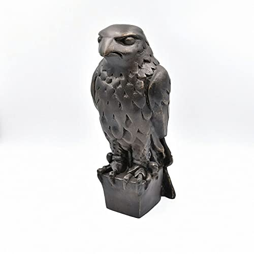 KASUP 1941 film The Maltese Falcon Standatue, met geheim compartiment, Handgemaakt. (Zwart)