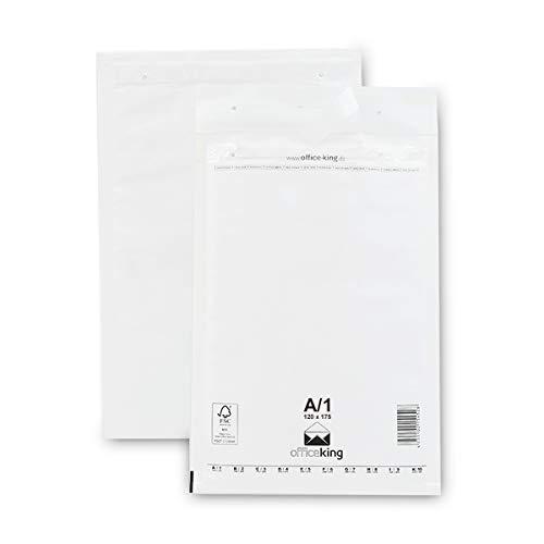 Verpacking 200 Luftpolsterumschläge A1 weiß 120x175mm DIN A7 Luftpolster Verpackung Polsterumschläge Briefumschläge gepolstert