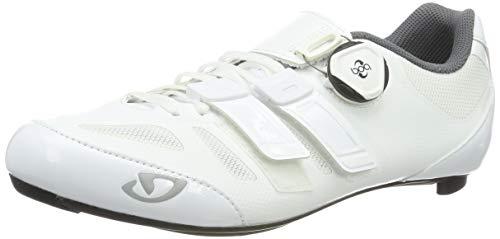 Giro Damen Raes Techlace Radsportschuhe - Rennrad, Weiß (White 9), 42 EU