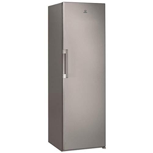 Réfrigérateur 1 porte Indesit SI61S - Réfrigérateur 1 porte - 322 litres - Froid statique - Dégivrage automatique - Gris métal - Silver - Classe A+ / Pose libre
