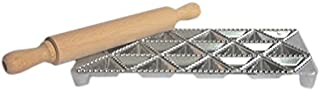 Eppicotispai 24 Triangle Holes Aluminium Maker with Rolling Pin