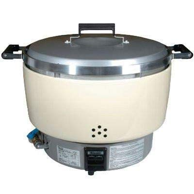 Rinnai Rice Cooker 55 Cups NSF Commercial GAS RER55ASL (Propane Gas)