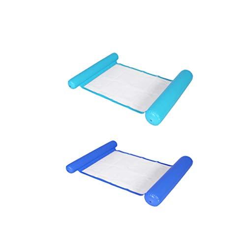 Amuzocity Juego de 2 Cojines de Flotabilidad Inflables para Hamacas de Piscina