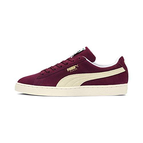 Puma Herren Suede Classic+ Sneaker, Rot (Cabernet-White), 39 EU