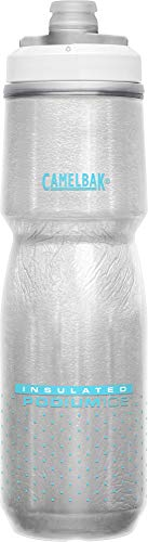 CamelBak Podium Ice Insulated Bike Water Bottle 21 oz, Lake Blue