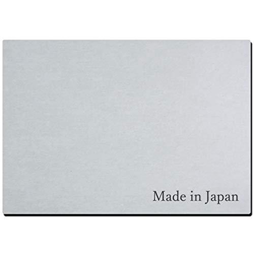 """【日本製】珪藻土 キッチン 食器乾燥 水切りマット Made in Japan刻印 A4サイズ (210mm×297mm) """"速乾・抗菌・消臭・軽量・耐久力抜群"""" 特許取得済み"""