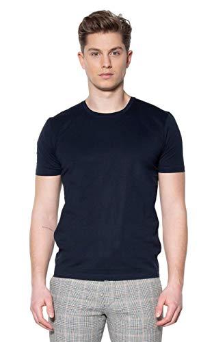 Drykorn Herren T-Shirt Carlo Blau L