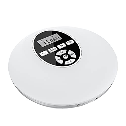 ARTIBETTER 1Pc Recarregável Portátil CD Player Pequeno Anti- Skip CD Player Bateria