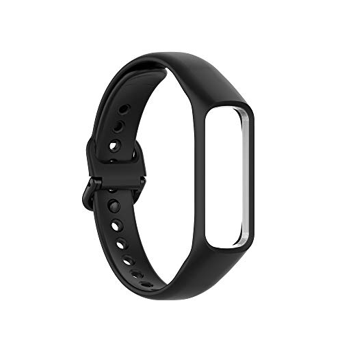 SIWEI Ersatz Fitness Armband Silikon Ersatzbänder Smart Watch Armbänder Ersatz Band Zubehör Armbänder Armbänder Kompatibel mit Samsung Galaxy Fit 2 Sm-R220