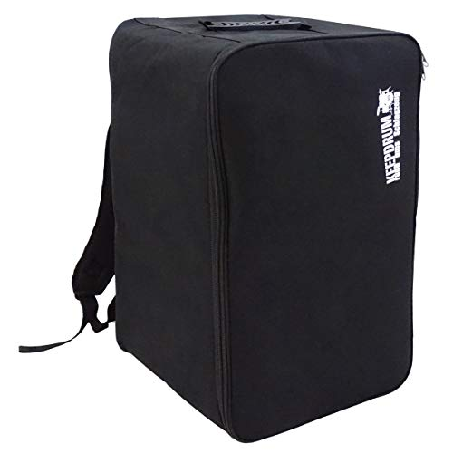 keepdrum Cajon Rucksack-Tasche Backpack Gig-Bag Nylon Cajontasche gepolstert