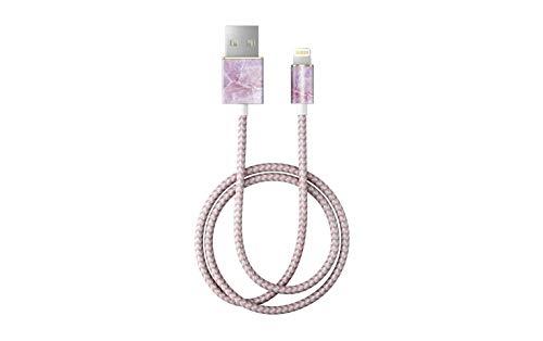 iDeal Of Sweden Pilion Pink Marble Lightning-Kabel (1m)