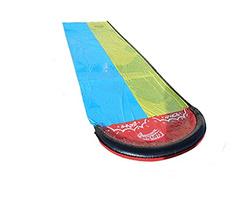 通用 Niños Tobogán de agua de verano juguete de agua al aire libre hierba Jet agua tobogán doble tabla de surf jardín juguete