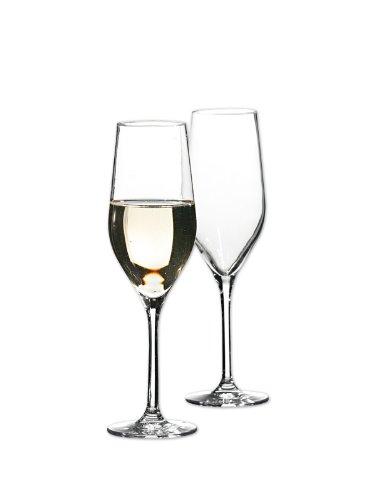 Bohemia Cristal Grand Gourmet Flûte Champagne 6 pièces dans Un Coffret Cadeau Capacité 260 mililitres Taille Unique
