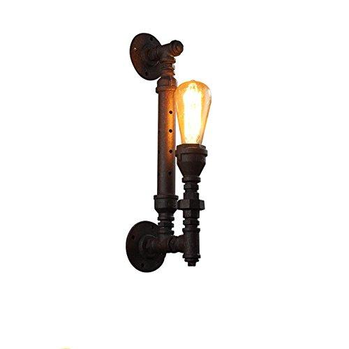 Preisvergleich Produktbild GBT Retro-Industrie-Wind Balkon Restaurant Europäische Stil Treppe Rusty Wasserrohr Wandleuchte (Led-Leuchten,  Warmes Licht,  Weißes Licht,  Kronleuchter,  Innenbeleuchtung,  Außenleuchten,  Wandleuchten)