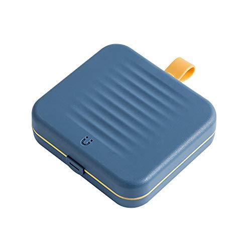 QLPXY Nähset Mit Etui, Mini Magnetic Nähset Zubehör, DIY Premium Nähzubehör Für Reisen, Zuhause, Heimwerker, Anfänger (Blau)