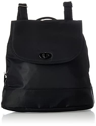 Travelon Women's Anti-Theft Tailored Backpack, Onyx, 12 x 11 x 3.75