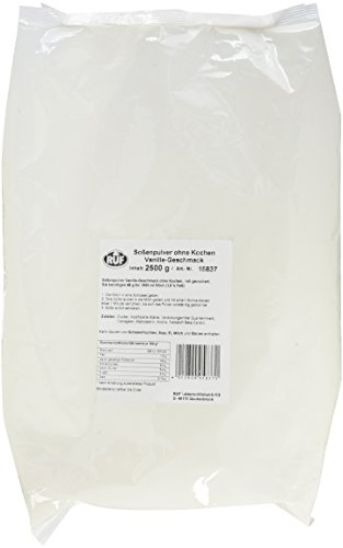 RUF Sossenpulver Vanille ohne Kochen, 1er Pack (1 x 2.5 kg)