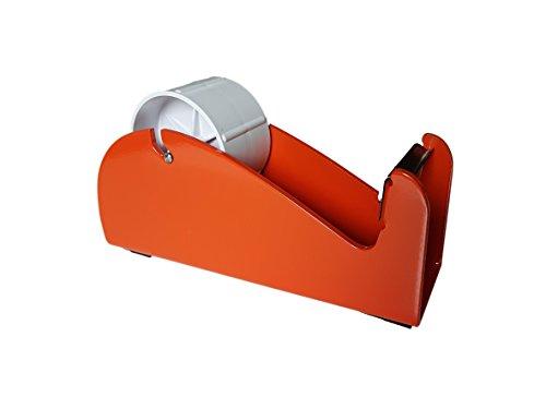 Paketbandabroller, robust, 25–48–50mm breit, für eine Nutzung auf dem Tisch/Schreibtisch, aus Acryl, für Pakete/Boxen/Verpackung, Klebeband