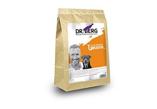 Dr. Berg URFLEISCH Ente & Süßkartoffel - Getreidefreies, hypoallergenes Hundefutter - Trockenfutter mit viel FRISCHFLEISCH - extra verträglich und lecker durch natürliche Zutaten (5 kg)
