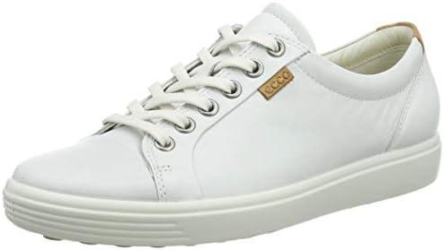 Ecco Womens Soft VII Fashion Sneaker White 39 EU 8 8 5 M US product image