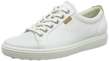 ECCO Womens Soft VII Fashion Sneaker White 39 EU/8-8.5 M US