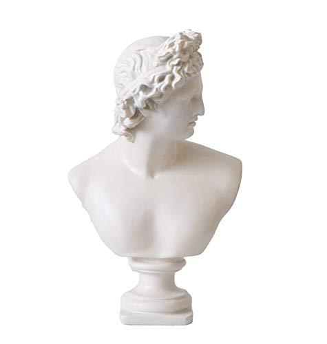 Estatua Apolo, Apolo Belvedere Busto Estatua Escultura