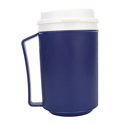 500ml Spill Proof Insulated Coffee Mug with Tumbler Lid and Handle for Adults, Disabled, Elderly