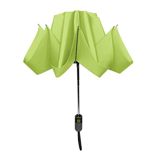 ShedRain Unbelievabrella Inverted, Upside Down, Automatic Open & Close Car Umbrella – Windproof & Rainproof - Heavy Duty, Double Layer Reverse Canopy Protects Men & Women from Outdoor Wind & Rain