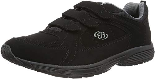 Bruetting Hiker V, Chaussures de Marche Nordique Mixte, Noir (Schwarz/Grau Schwarz/Grau), 49 EU