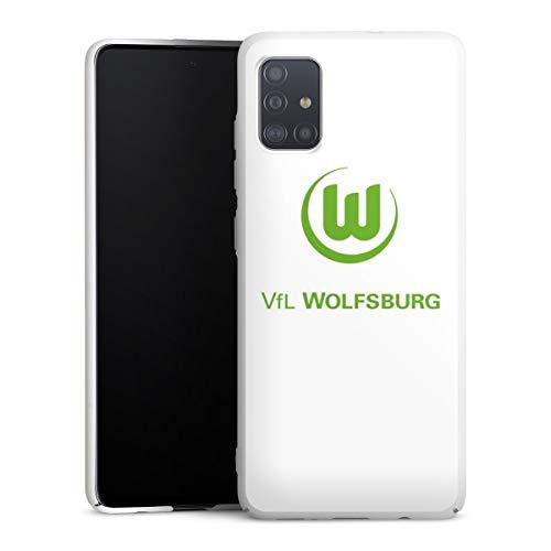 DeinDesign Hülle kompatibel mit Samsung Galaxy A51 Handyhülle Case VFL Wolfsburg Offizielles Lizenzprodukt Logo