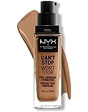 NYX PROFESSIONAL MAKEUP NYX professionele make-up kan niet stoppen zonder volledige dekking foundation