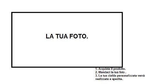 Dolce idea Crea La Tua CIALDA Personalizzata in Ostia, Forma Rettangolare, Formato A4 Decorazione per Torta.