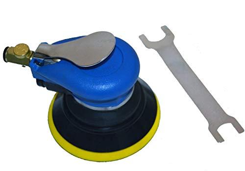 "New Hand Tools 5"" Palm Grip Random Orbital Sander HD 9000RPM Sanding Pad Air Tool w/Wrench NEW"