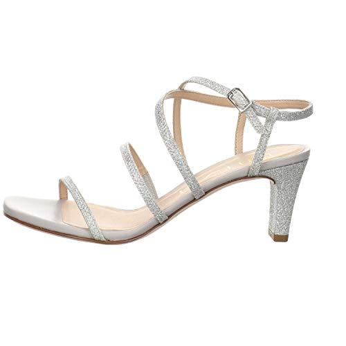 Unisa Damen Sandalette Malcon Silber Gr. 39